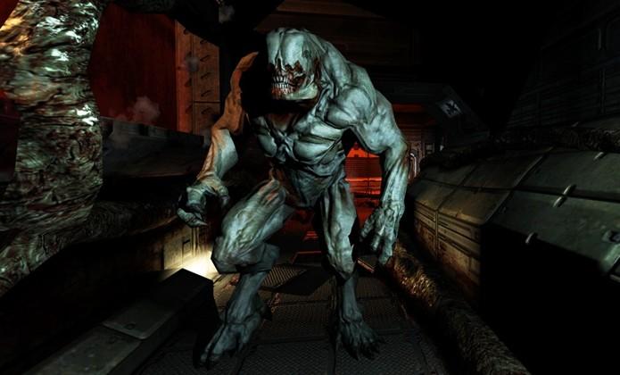 Doom 3 surpreende até hoje com seus belos gráficos (Foto: trueachievements.com)