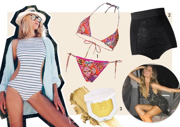Guia de verão - Celina Locks (Foto: Reprodução/Instagram e Divulgação)