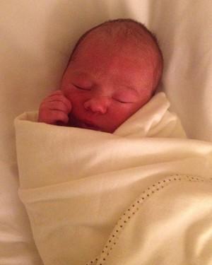 O pequeno Henrique nasceu no hotel e ninguém soube (Foto: Arquivo pessoal/ Maria Eduarda)