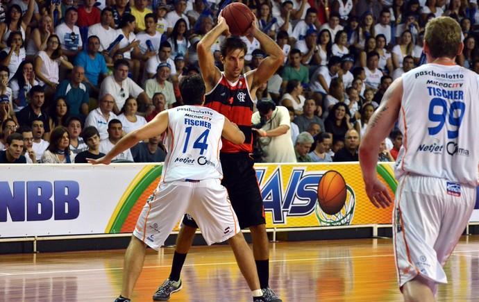 Marcelinho Flamengo x Bauru (Foto: Caio Casagrande / Bauru Basket)