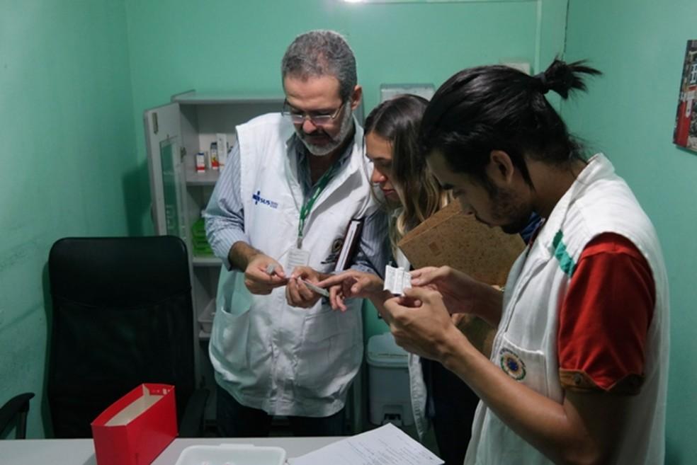 Alimentos vencidos, problemas de infraestrutura e suspeita de maus-tratos foram encontrados em abrigo no Grande Recife (Foto: Divulgação/SEDH)