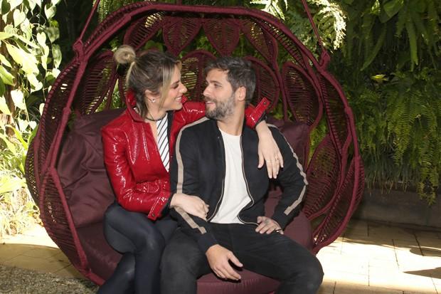 Bruno Gagliasso e Giovanna Ewbank (Foto: Thiago Duran/AgNews)