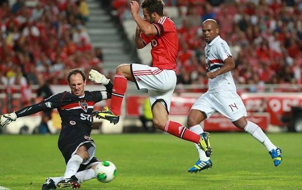 Rogério Ceni - São Paulo x Benfica (Foto: Isabel Cutileiro/SL Benfica)