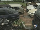 'Cemitério de carros' a céu aberto revolta moradores em Limeira, SP