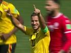 Placar de 5 x 2 sobre Tunísia confirma Bélgica como uma das favoritas