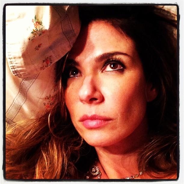 Com insônia, Luciana Gimenez posta foto (Foto: Instagram)