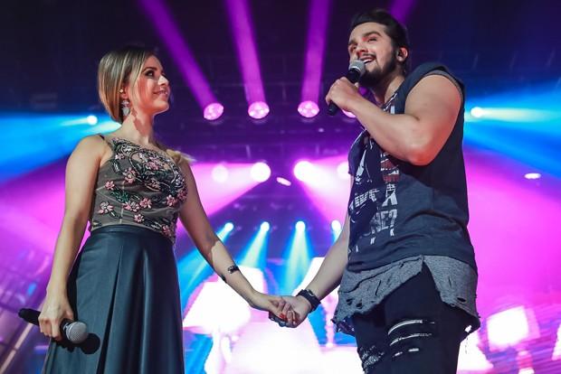Sandy e Luan Santana (Foto: Raphael Castello/AgNews)