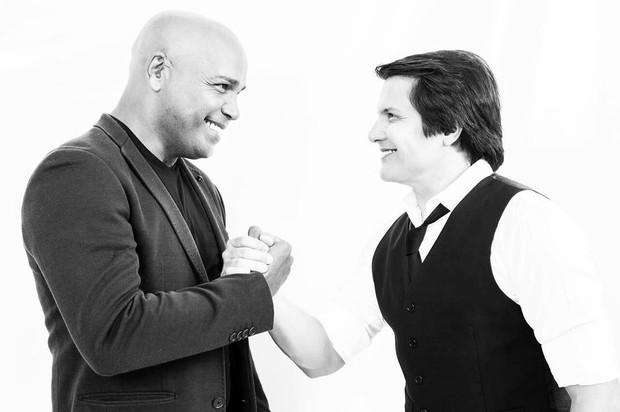 Rick e Giovani: parceria nos palcos (Foto: Reprodução/Instagram)