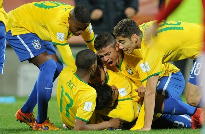 Brasil x Hungria Mundial sub-20 - AP (Foto: AP)