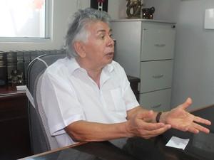 Advogado Antônio Melo foi testemunha da ação da PF (Foto: Amanda Franco/G1)