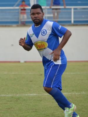 Marcelo Brás, jogador da Amax (Foto: Quésia Melo)