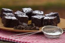 'A Cozinha Caseira de Annabel' - maravilhoso brownie de chocolate