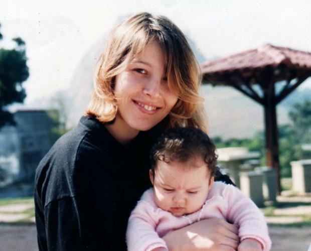 Alyssa sempre tentou ser uma 'mãe amiga' (Foto: Arquivo Pessoal)