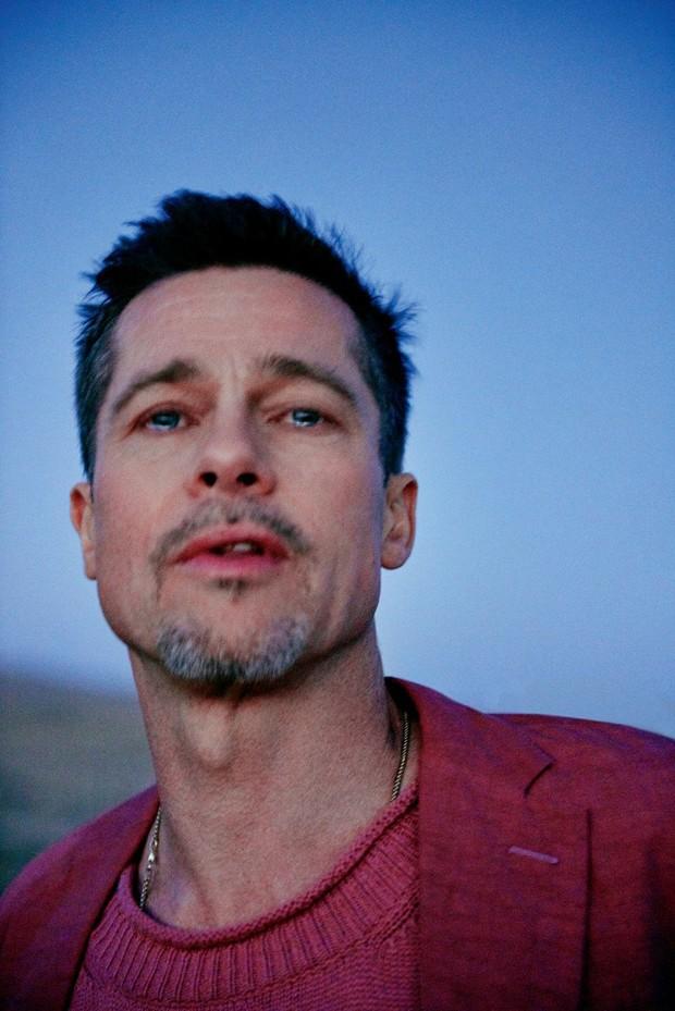 Brad Pitt na GQ Style (Foto: Divulgação)