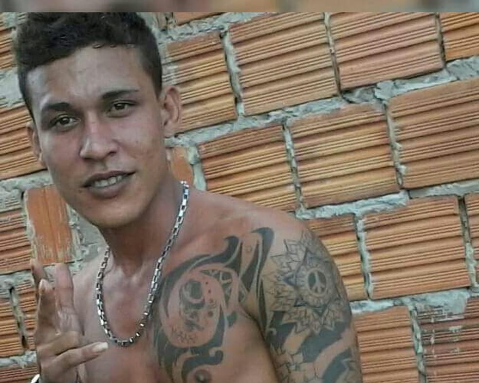 Antônio Walyfe Oliveira morreu durante perseguição policial (Foto: Arquivo Pessoal)