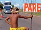 Índios voltam a bloquear rodovia e cobrar pedágio de até R$ 50 em MT