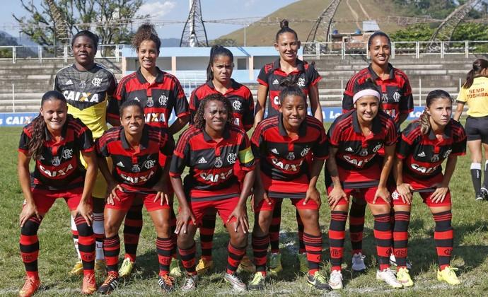 Flamengo futebol feminino Brasileiro 2015 (Foto: Rafael Ribeiro/ CBF)
