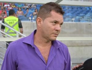 Isaías Silva - técnico do Baraúnas (Foto: Jocaff Souza)