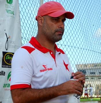 Cristian de Souza, técnico do Rio Branco (Foto: Nathacha Albuquerque)