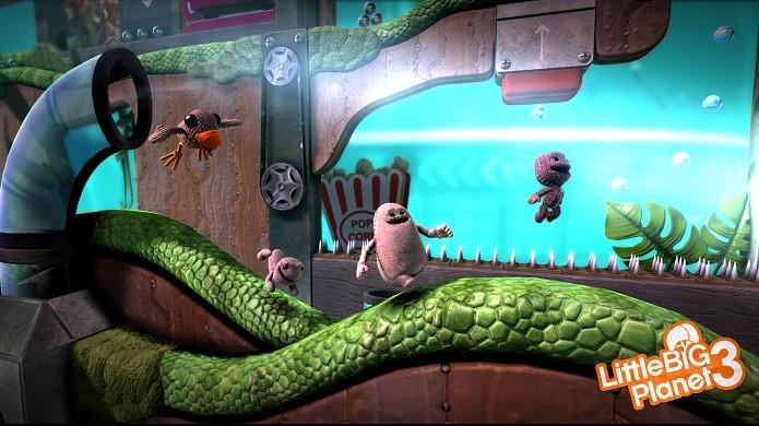 LittleBigPlanet 3 não trará transição dinâmica de personagens, que serão utilizados em momentos específicos. (Foto: Reprodução/operationrainfall)