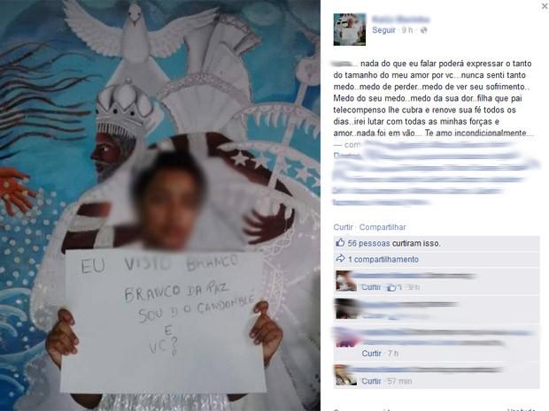 Avó faz campanha pela tolerância religiosa, após agressão a neta