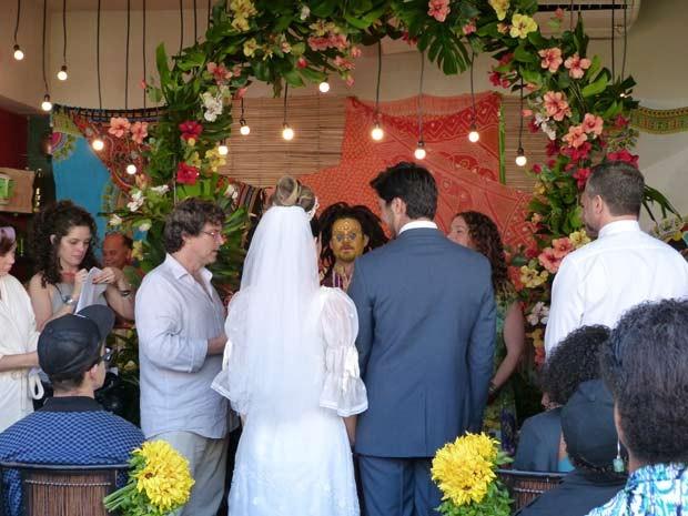 Carimônia Casamento Fatinha  (Foto: Malhação / TV Globo)