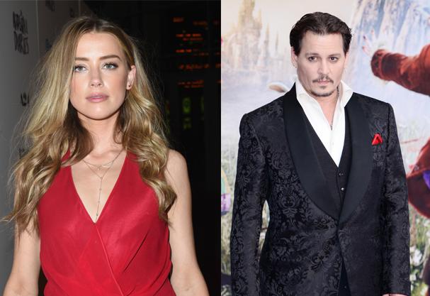 Amber Heard e Johnny Depp finalizam o divórcio (Foto: Getty Images)