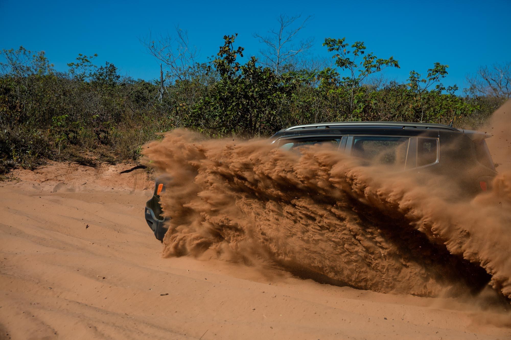 Sacode a poeira, dá a volta por cima (Foto: Marcos Camargo)