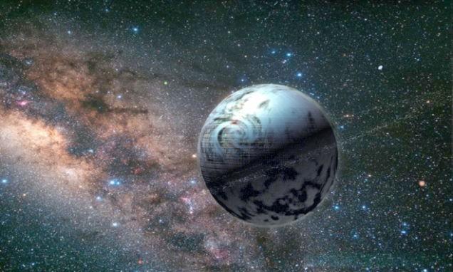 Concepção artística de uma Esfera de Dyson (Foto: Reprodução)