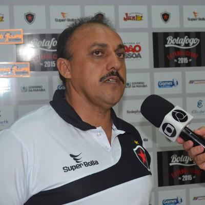Zezinho Botafogo, vice-presidente de futebol do Botafogo-PB (Foto: Amauri Aquino / GloboEsporte.com/pb)