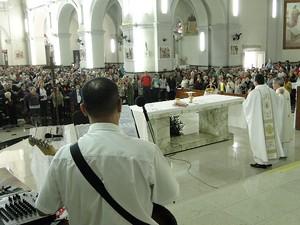 Santo Antônio Catedral Juiz de Fora 2 (Foto: Assessoria de Comunicação Catedral JF/ Divulgação)