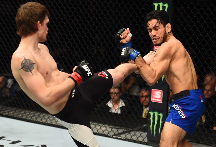 Rick Glenn x Phillipe Nover UFC 208 (Foto: Getty Images)