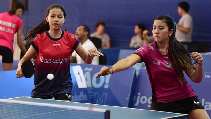 Tênis de mesa  Paraná se destaca nas disputas de duplas feminina e mista c8ac709790fdb