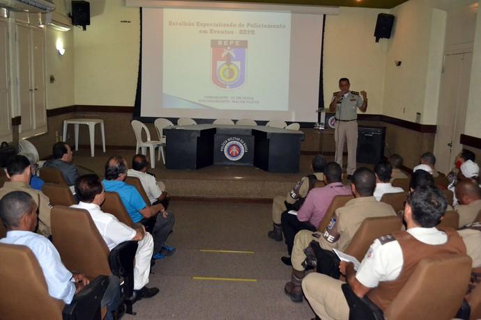 reunião; polícia militar; pm; ba-vi; bahia; vitória (Foto: Divulgação/PM BA)