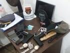 Suspeitos são capturados em fuga após assalto a vendedor de açaí