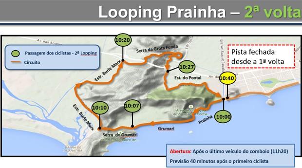 Segunda volta na Prainha (Foto: Reprodução / CET-Rio)