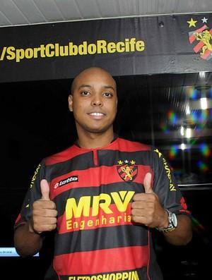 rodriguinho sport (Foto: Aldo Carneiro / Pernambuco Press)