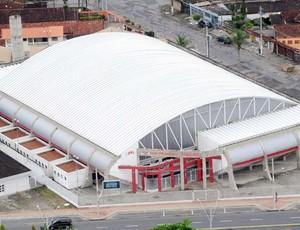 Ginásio Falcão, em Praia Grande (Foto: Divulgação / Prefeitura Municipal de Praia Grande)