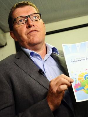Thierry Weil Diretor de Marketing da Fifa (Foto: Marcos Ribolli / Globoesporte.com)