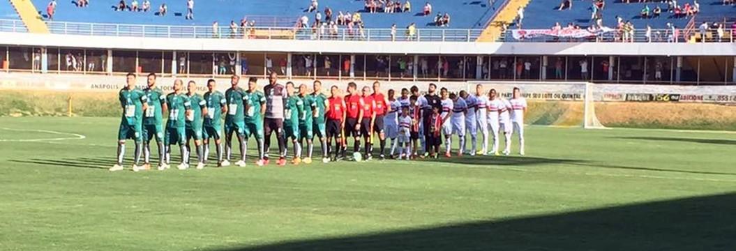 Caldense empata com o Anápolis em 1 a 1  no jogo de ida da 2ª fase da Série D do Brasileiro (Alex Joaquim / AA Caldense)