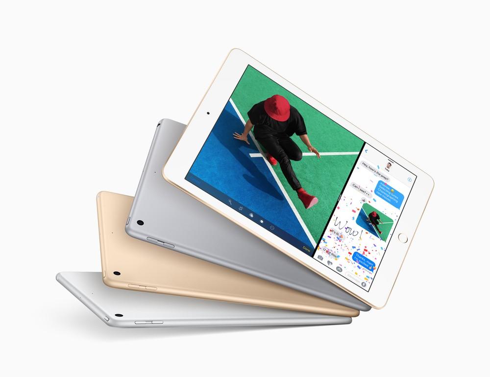 Novo iPad de 9,7 polegadas tem tela Retina mais brilhante e com maior resolução. (Foto: Divulgação/Apple)