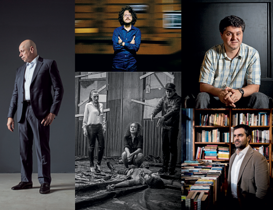 Patrulheiros da cultura (Foto: Guito Moreto/Agência O Globo, Eduardo Knapp/Folhapress, Julia Rodrigues/ÉPOCA e divulgação)