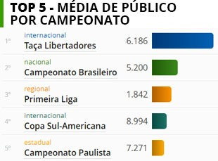 TABELA  médias público campeonato (Foto: Editoria de Arte)