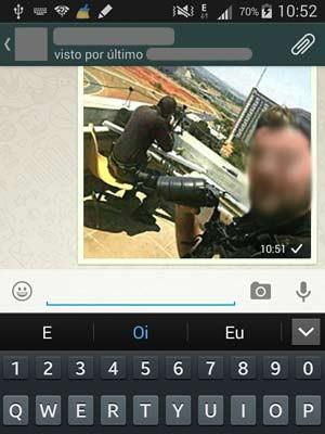 Foto que circula em redes sociais mostra atiradores de elite que atuaram no caso de homem que fez funcionário de hotel refém por quase oito horas em Brasília (Foto: Reprodução)