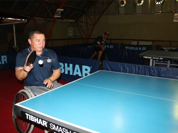 James Cardoso é bicampeão brasileiro em tenis de mesa (Foto: Girlene Medeiros/G1 AM)
