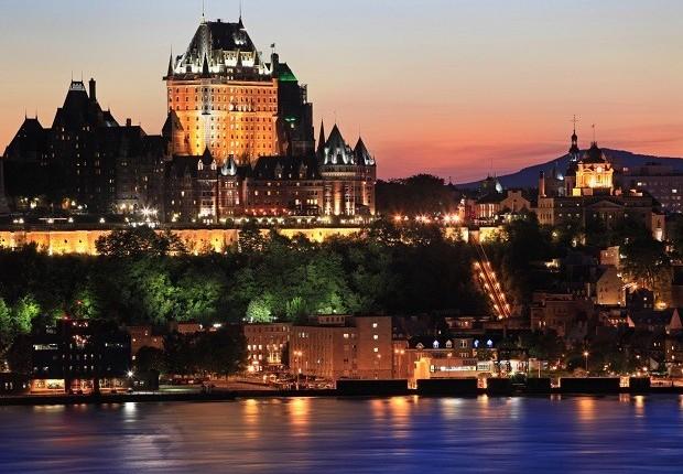 Cidade de Québec, no Canadá (Foto: Thinkstock)