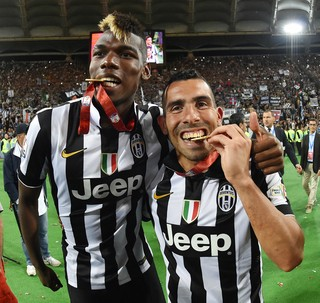Pogba Tevez Juventus (Foto: Getty Images)