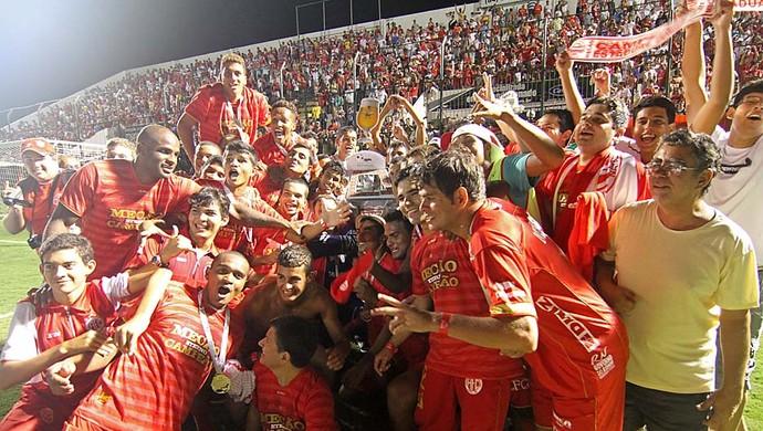 América-RN campeão de 2012 (Foto: Canindé Soares)
