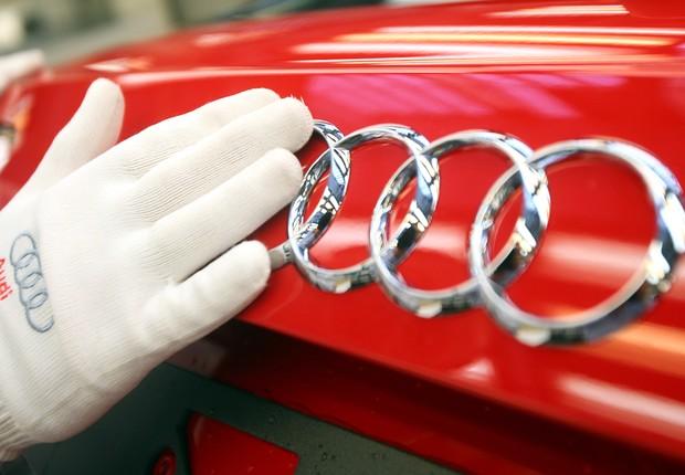 Fábrica da Audi, marca da Volkswagen AG (Foto: Alexander Hassenstein/ Getty Images)