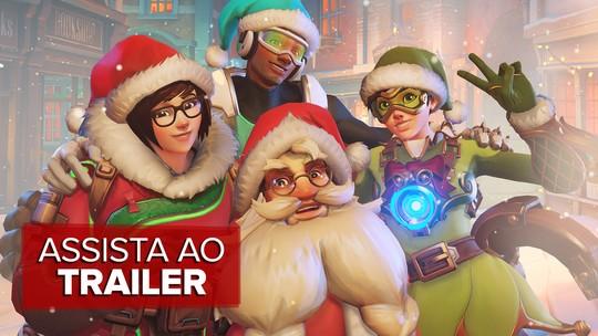 'Overwatch' ganha evento de Natal e mais de 100 itens novos